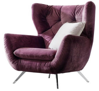FOTELJA - Design, tekstil (100/106cm) - PURE HOME COMFORT