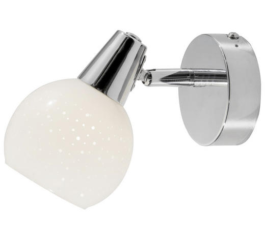 STRAHLER - Chromfarben/Weiß, Basics, Glas/Metall (10cm) - Boxxx