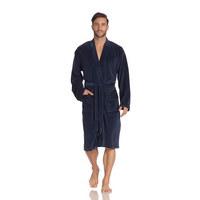 BADEMANTEL S - Blau, Basics, Textil (Snull) - Vossen