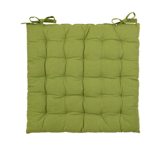SITZKISSEN 40/40/3 cm - Grün, Basics, Textil (40/40/3cm) - Boxxx