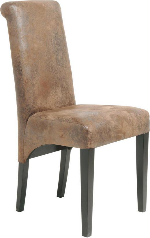 STUHL Buche Braun - Braun, LIFESTYLE, Holz/Textil (47/96/50cm) - KARE-Design