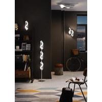 LED NÁSTĚNNÉ SVÍTIDLO - barvy stříbra, Konvenční, kov (42/10/21cm)