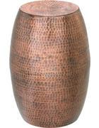 TABURET - měděné barvy, Trend, kov (24/48/24cm) - Ambia Home