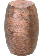 TABURET, měděné barvy - měděné barvy, Trend, kov (24/48/24cm) - Ambia Home