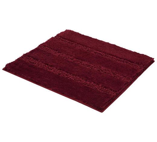 BADTEPPICH in Dunkelrosa - Dunkelrosa, KONVENTIONELL, Kunststoff/Textil (60/60cm) - Kleine Wolke