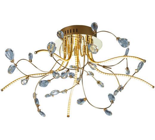 LED-DECKENLEUCHTE - Transparent/Messingfarben, LIFESTYLE, Kunststoff/Metall (54/30cm)
