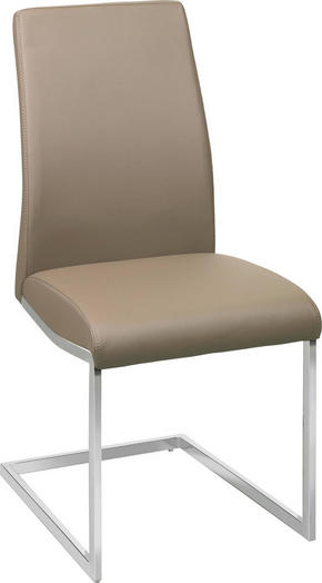 SVIKTSTOL - brun/kromfärg, Design, metall/textil (45/96/58,5cm) - Xora