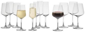 GLÄSERSET 12-teilig - Klar, Basics, Glas - Villeroy & Boch