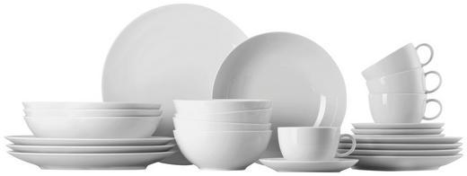 Porzellan  KOMBISERVICE 24-teilig - Weiß, Basics, Keramik - Thomas