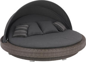 VILSÄNG - grå, Design, metall/textil (218/127/218cm) - Amatio