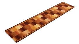 Läufer Ikat - Beige, Basics, Textil (67/150cm) - Ombra