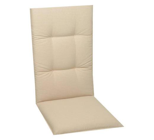 SESSELAUFLAGE Uni  - Creme, KONVENTIONELL, Textil (48/118/5cm)
