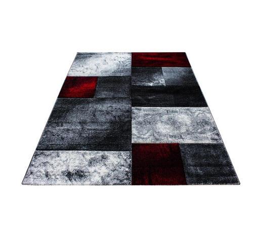 WEBTEPPICH  80/300 cm  Rot   - Rot, KONVENTIONELL, Textil (80/300cm) - Novel
