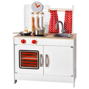 KINDERKÜCHE - Rot/Weiß, Basics, Holz/Kunststoff (60/36/82cm) - Ben'n'jen