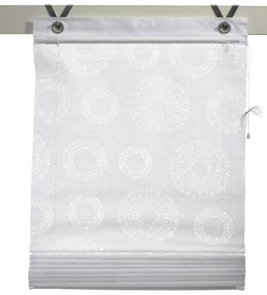 PLISSEE   80/140 cm - Weiß, Basics, Textil (80/140cm) - Esposa