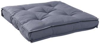 SITZKISSEN Grau - Grau, KONVENTIONELL, Textil (40/40/5cm) - BOXXX
