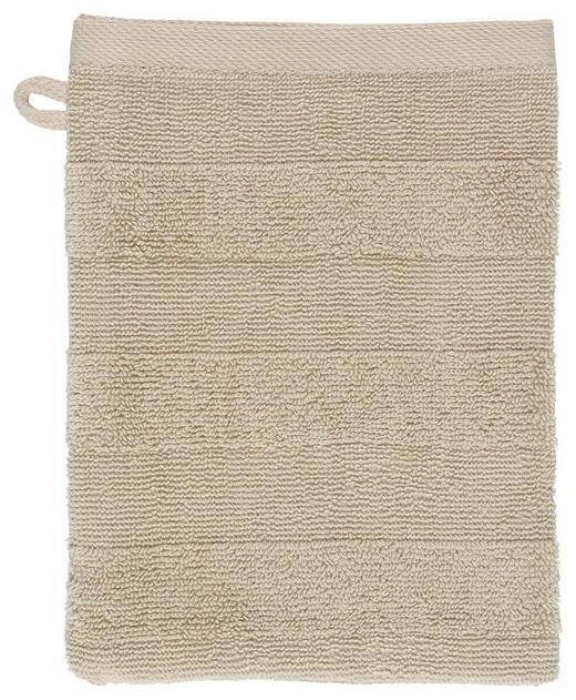 WASCHHANDSCHUH  Beige - Beige, Basics, Textil (16/22cm) - Linea Natura
