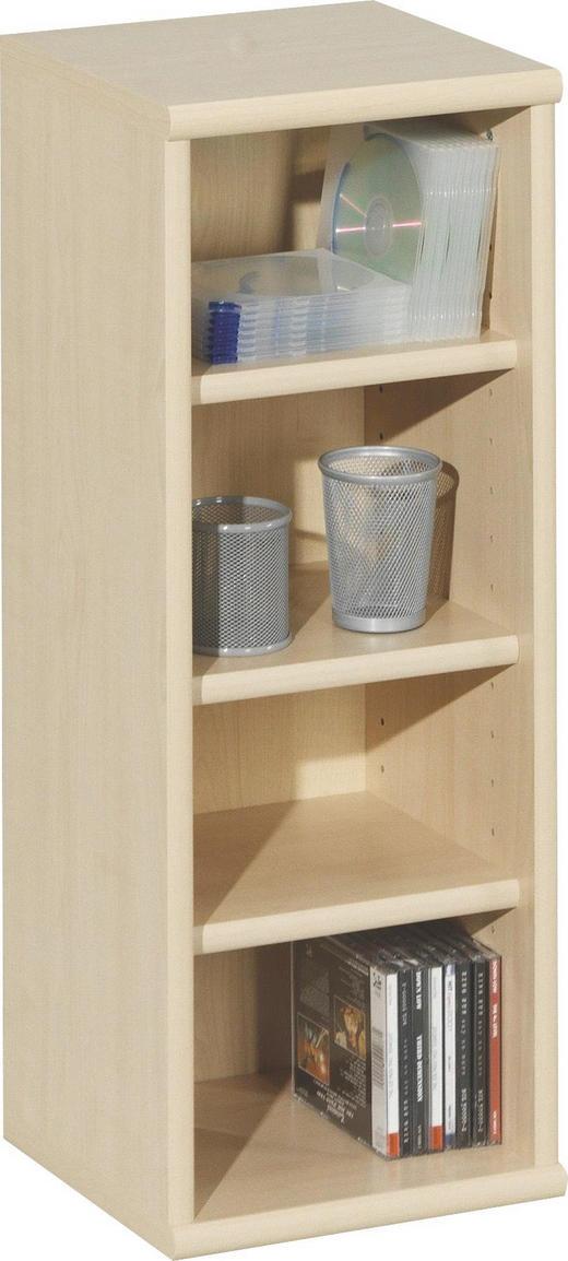 REGAL Ahornfarben - Ahornfarben, Design, Holz (28/73/27cm) - CS SCHMAL