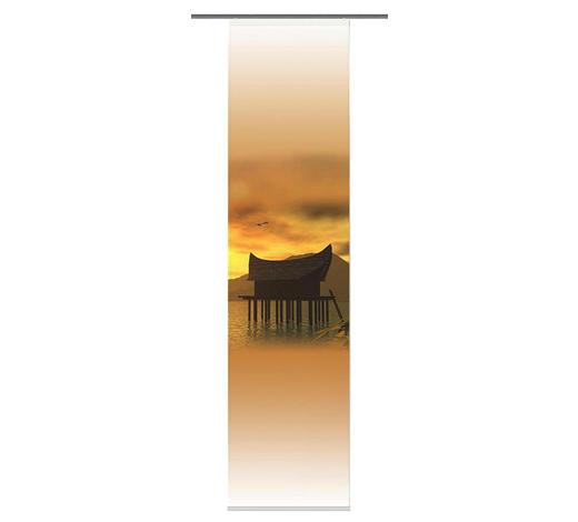 FLÄCHENVORHANG in Orange - Orange, Design, Textil (60/245cm)