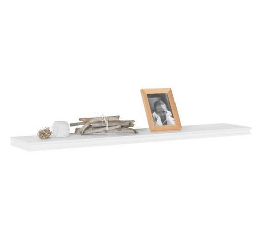 WANDBOARD in 120/3,8/23 cm Weiß - Weiß, LIFESTYLE, Holzwerkstoff (120/3,8/23cm) - Landscape