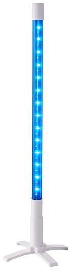 LED-DEKOLEUCHTE - Blau, Basics, Glas/Kunststoff (77cm)