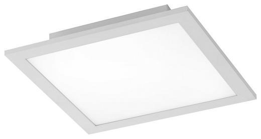 LED STROPNÍ SVÍTIDLO - bílá/barvy stříbra, Basics, kov (30/30/5,6cm) - Novel