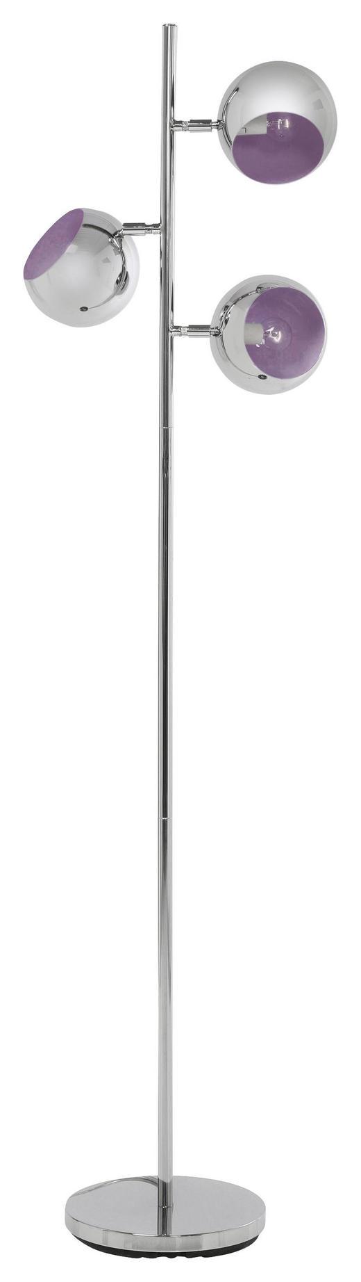 STEHLEUCHTE - Design, Metall (40/151/25.5cm) - Kare-Design