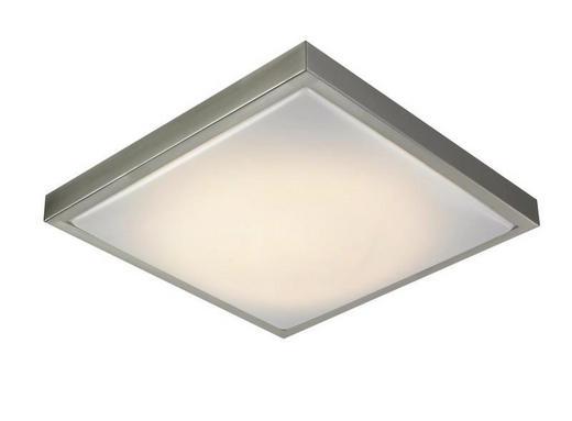 LED-PANEEL - Weiß, Design, Kunststoff/Metall (40/9/40cm) - Boxxx
