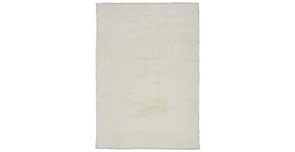 HOCHFLORTEPPICH  130/190 cm   Weiß - Weiß, Design, Textil (130/190cm) - Novel