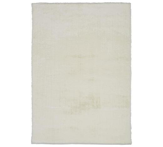 HOCHFLORTEPPICH - Weiß, KONVENTIONELL, Textil (130/190cm) - Novel