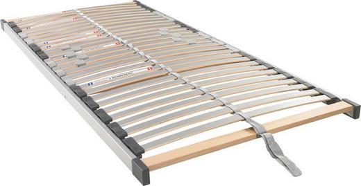 LATTENROST 100/200/ cm - Silberfarben, Basics, Holz/Kunststoff (100/200/cm)