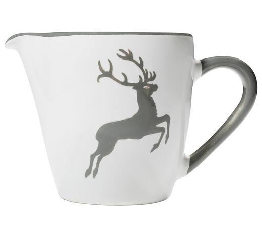 MILCHKÄNNCHEN 200 ml - Weiß/Grau, LIFESTYLE, Keramik (0,2cm) - Gmundner