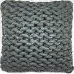 ZIERKISSEN  - Dunkelgrau, Trend, Textil (40/40cm) - Ambia Home