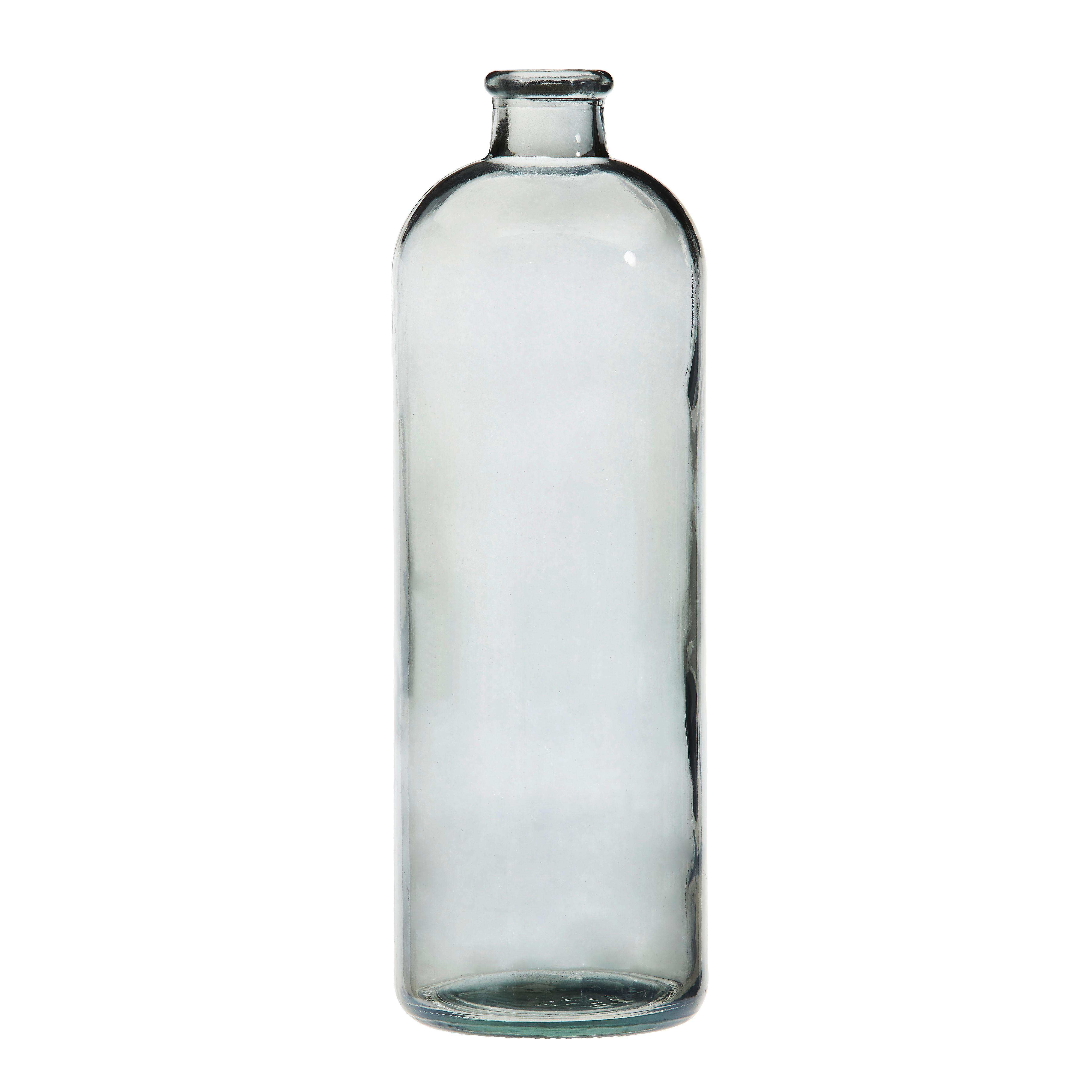 GLAS 11/33 cm Grau, Klar - Klar/Grau, Glas (11/33cm)