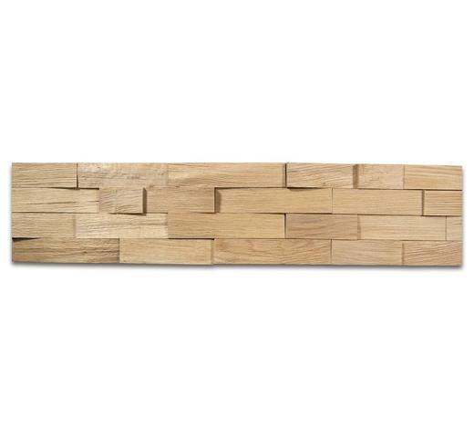 WANDPANEEL - Eichefarben, LIFESTYLE, Holz (78/18cm) - Ambiente