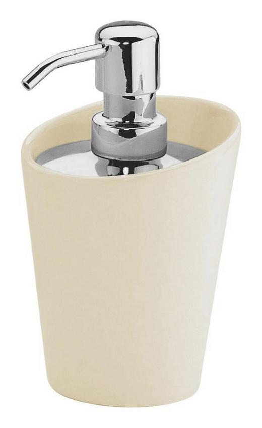 SEIFENSPENDER Weiß - Weiß, Basics, Keramik/Metall (7,5/18cm)
