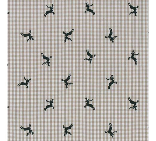 VORHANGSTOFF per lfm blickdicht  - Beige/Grün, LIFESTYLE, Textil (160cm) - Landscape