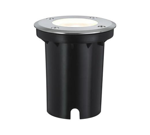 LED-AUßENLEUCHTE - Edelstahlfarben, Basics, Metall (10,8cm)