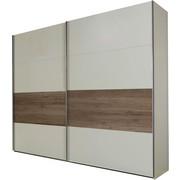 ORMAR S KLIZNIM VRATIMA - bijela/boje hrasta, Design, drvni materijal (225/210/65cm) - Boxxx