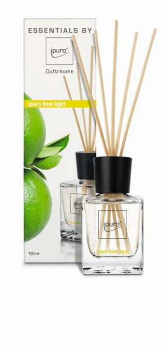 DIFFUSER LIME LIGHT - Transparent, Basics (0,1l) - Ipuro