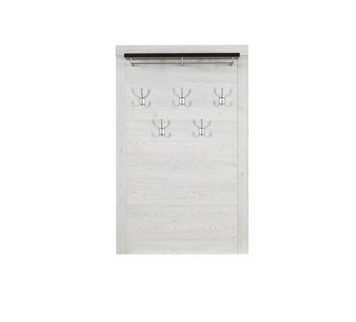 ŠATNÍ PANEL, bílá, barvy pinie,  - bílá/barvy pinie, Lifestyle, kompozitní dřevo (100/158/25cm) - Landscape
