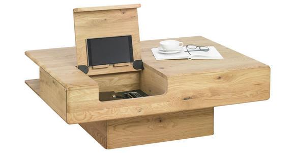 COUCHTISCH in Holz 110/80/39 cm - Eichefarben, Design, Holz (110/80/39cm) - Valnatura