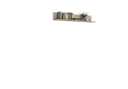 WANDBOARD Kiefer massiv Weiß - Weiß, LIFESTYLE, Holz (150/22,5/22,5cm) - Carryhome