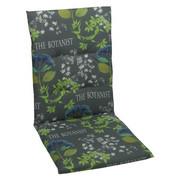 JASTUK ZA STOLICU - siva/zelena, Design, tekstil (48/108/5cm) - Ambia Garden