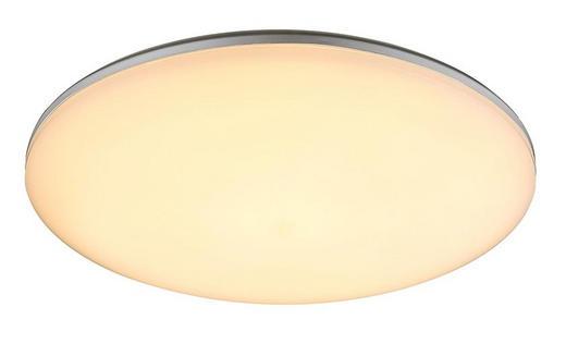 LED-AUßENLEUCHTE - Silberfarben/Opal, KONVENTIONELL, Kunststoff (33/5,6cm)