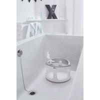 BADESITZ - Silberfarben/Weiß, Trend, Kunststoff (31/31/26cm) - Bebe Jou