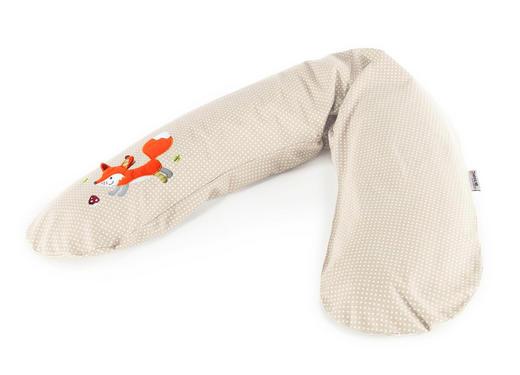 STILLKISSEN - Beige, KONVENTIONELL, Textil (190cm) - Theraline