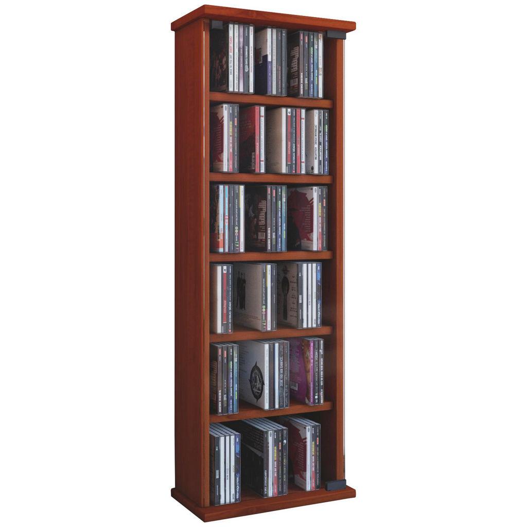 XXXL CD-REGAL Braun | Wohnzimmer > TV-HiFi-Möbel > CD- & DVD-Regale | Holzwerkstoff | XXXL Shop