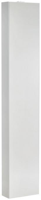 SPIEGELSCHRANK Weiß - Weiß, KONVENTIONELL, Glas/Metall (29/158/21cm)