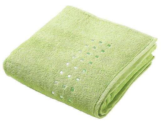 DUSCHHANDDUK - grön, Klassisk, textil (70/140cm) - ESPOSA